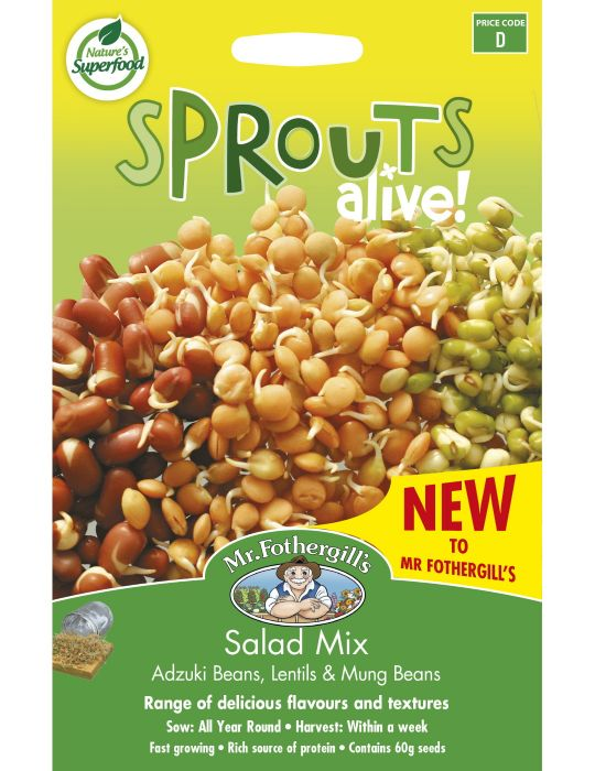 Sprouts Alive Salad Mix