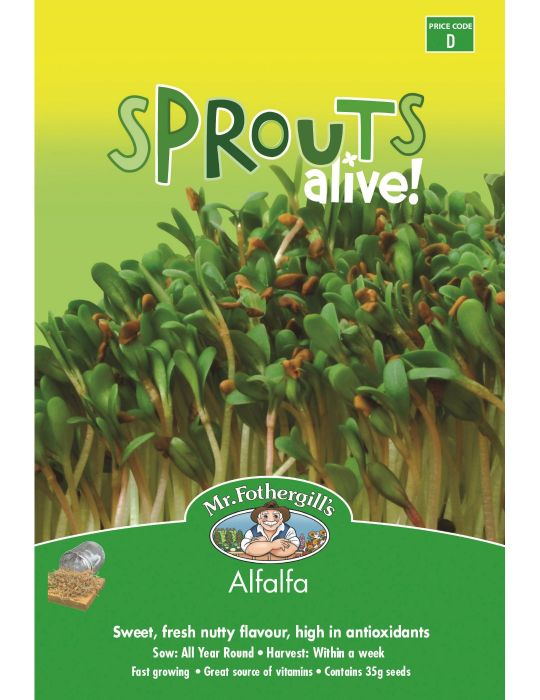Sprouts Alive Alfalfa - NOT AVAILABLE TO WA