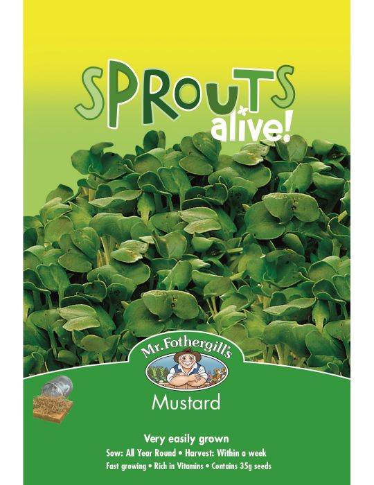 Sprouts Alive Mustard