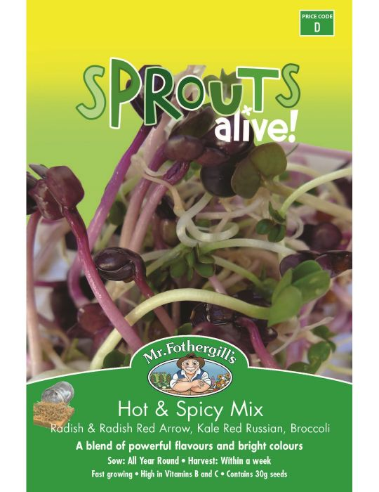 Sprouts Alive Hot & Spicy Mix