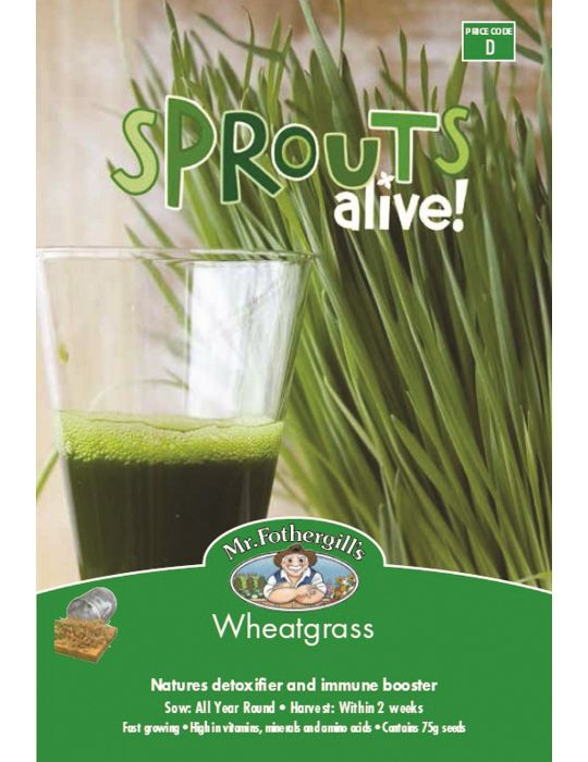 Sprouts Alive Wheatgrass - NOT AVAILABLE TO TAS