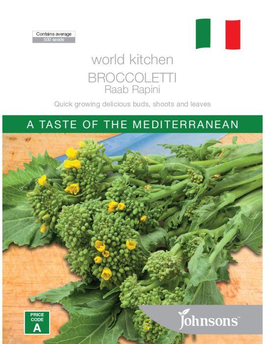 Broccoletti Raab Rapini