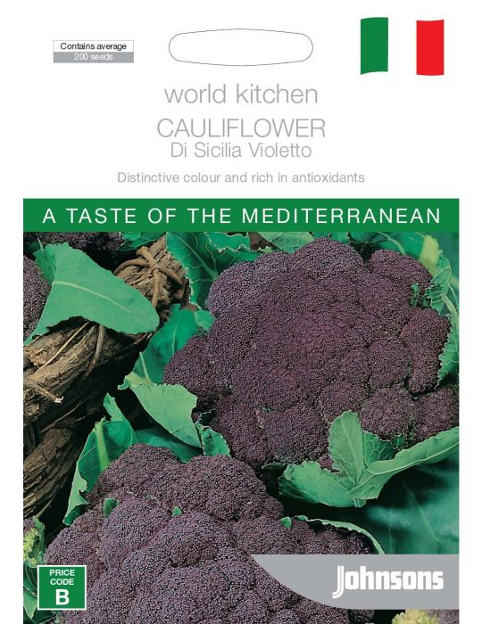 Cauliflower Di Sicilia Violetto