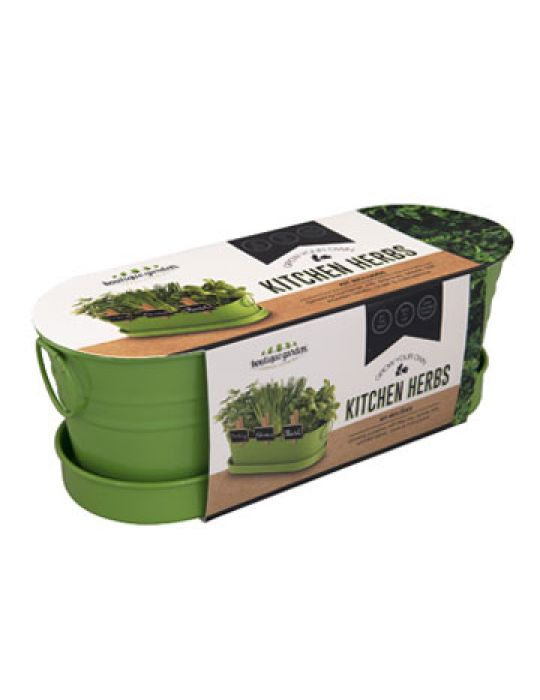 Kitchen Herbs - Windowsill Tin