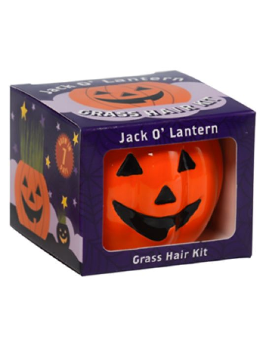 Grass Hair Kit -  Halloween (Jack O Lantern)