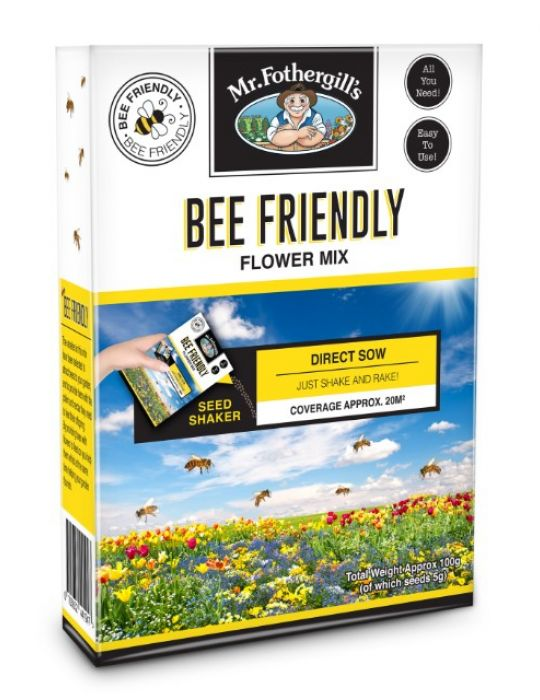 Bee Friendly Flower Mix Shaker