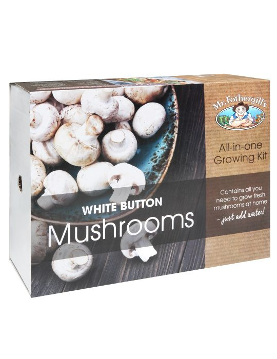 White Button Mushroom Kit (Bunnings exclusive)