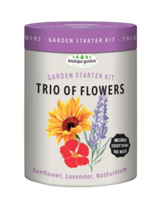 Trio of Flowers Garden Starter Kit