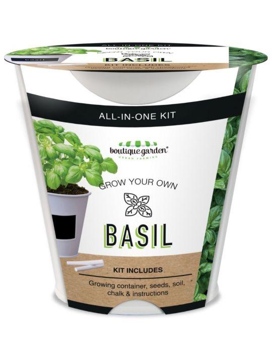 Basil - Chalkboard Grow Kit Tin