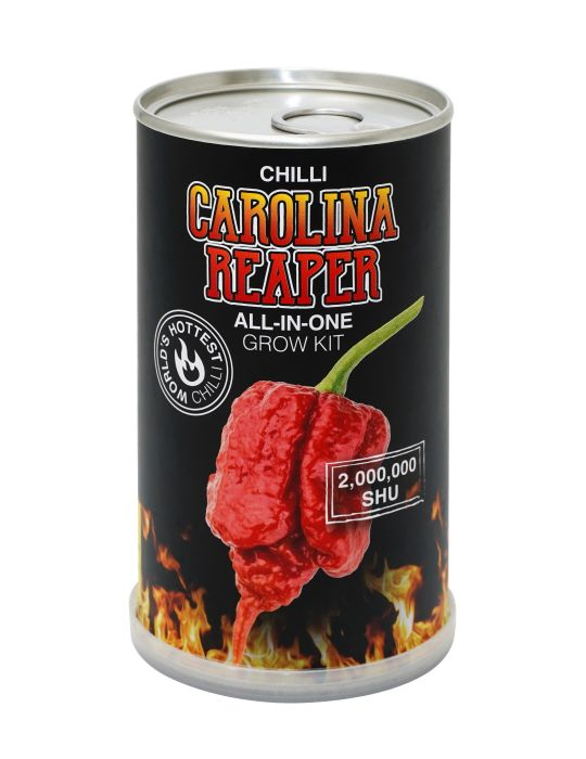 Chilli - Carolina Reaper Grow Kit Can