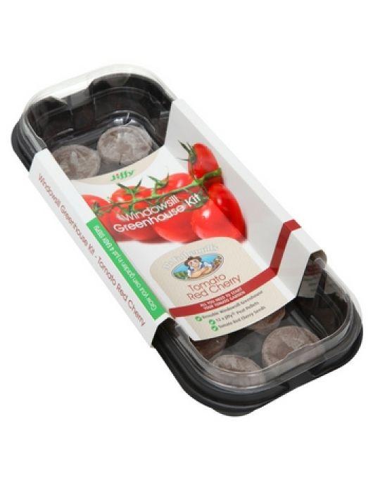 Windowsill Greenhouse Kits - Tomato Red Cherry