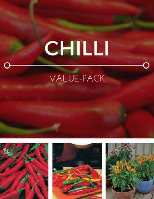 Chillies Value Pack