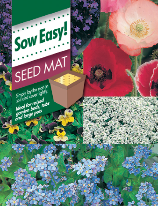 Cottage Garden Flowers Seed Mat