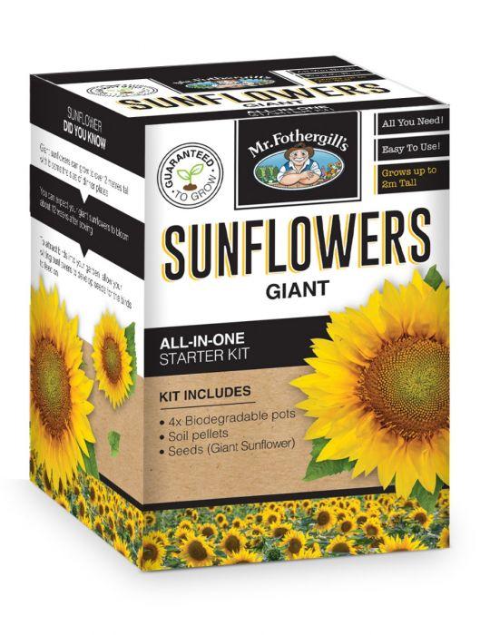 Giant Sunflower Starter Kit