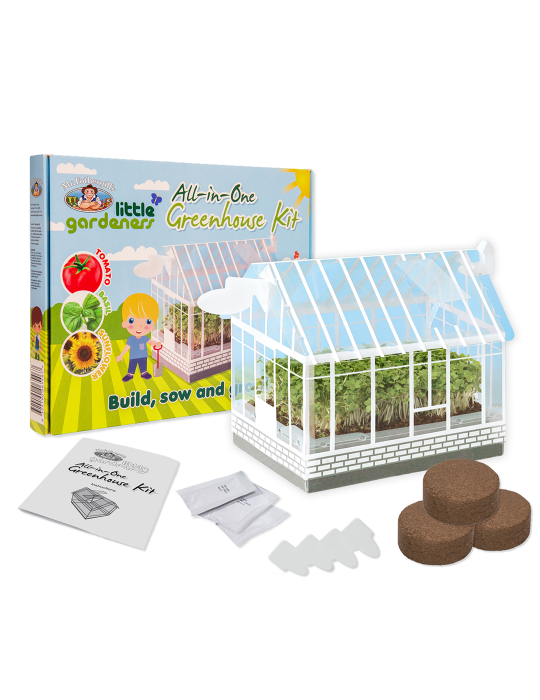 Little Gardeners Mini Greenhouse Kit