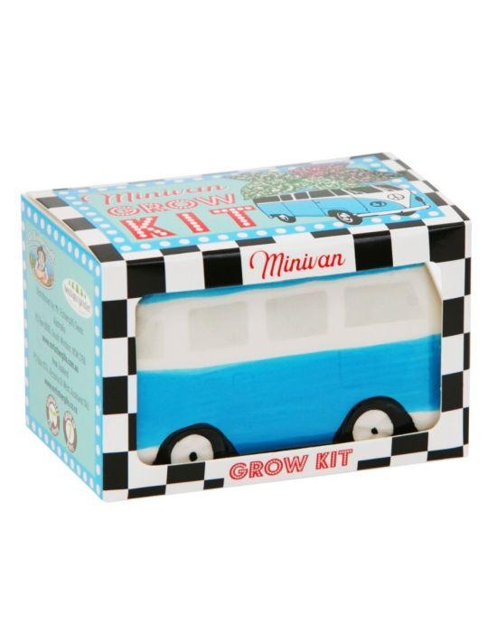 Minivan Grow Kit - Freckle Face Van - Blue