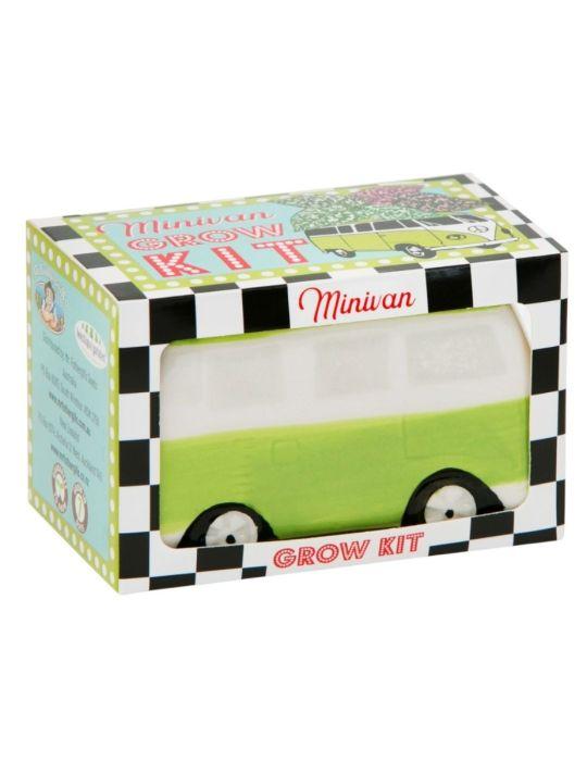 Minivan Grow Kit - Freckle Face Van - Green