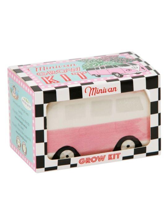 Minivan Grow Kit - Freckle Face Van - Pink