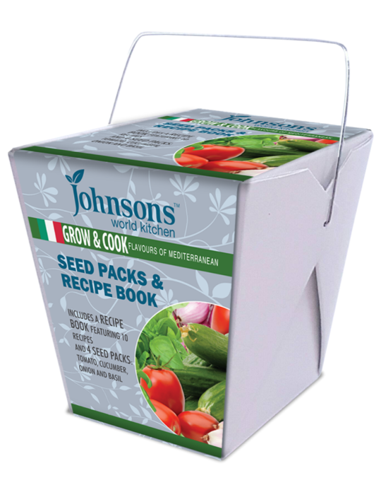 Grow & Cook Flavours of the Mediterranean