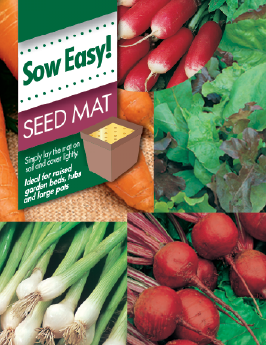 Salad Vegetables Seed Mat