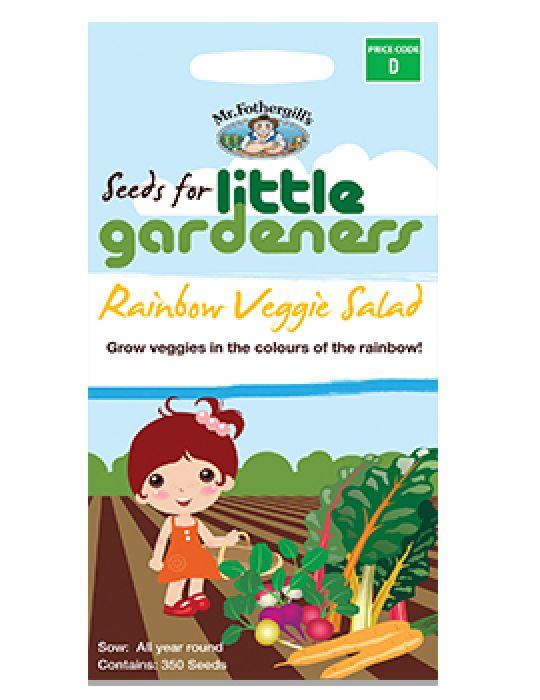 Little Gardeners - Rainbow Veggie Salad