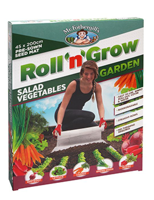 Roll 'n' Grow Gardens - Salad Vegetables