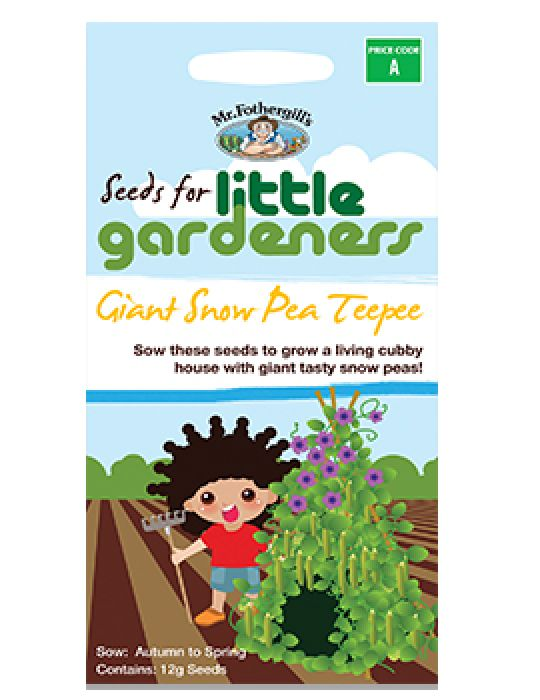 Little Gardeners - Snow Pea Teepee