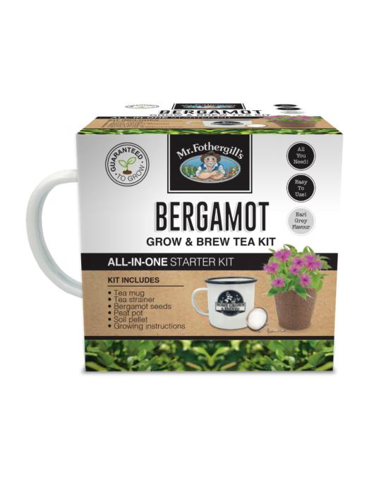 Bergamot Grow & Brew Tea Kit