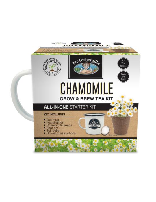 Chamomile Grow & Brew Tea Kit