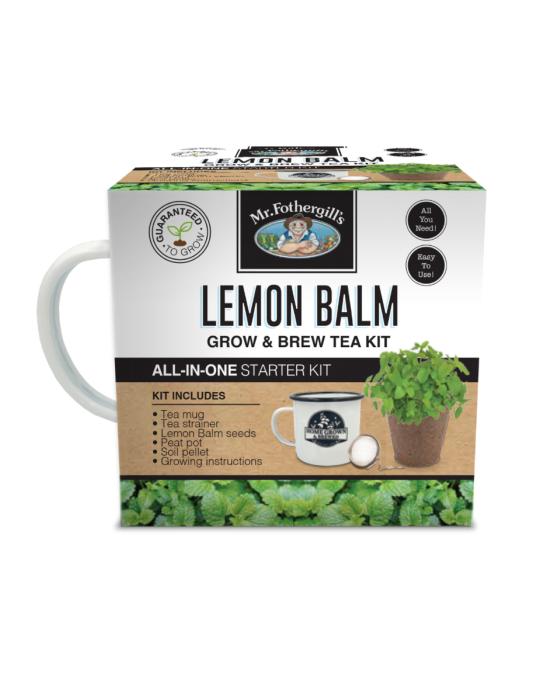 Lemon Balm Grow & Brew Tea Kit