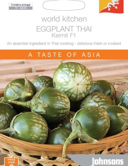 Eggplant Thai Cherry Kermit F1