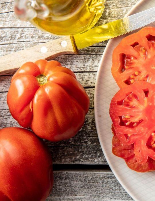 Tomato Burke's Backyard