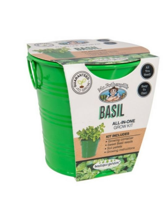 Basil - Round Grow Kit Tin