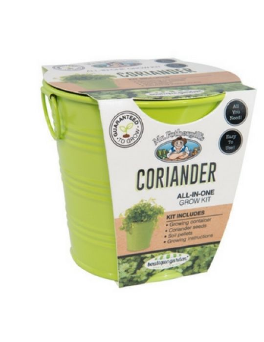 Coriander - Round Grow Kit Tin