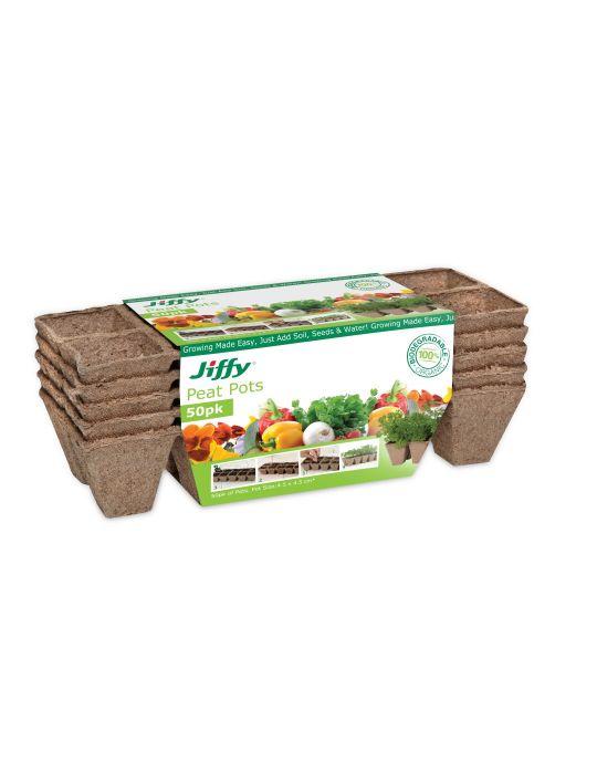 Jiffy 5cm Strips (50 Jiffy Pots)