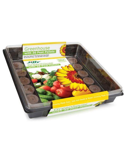 Jiffy Greenhouse (36 x 36 mm pellets)