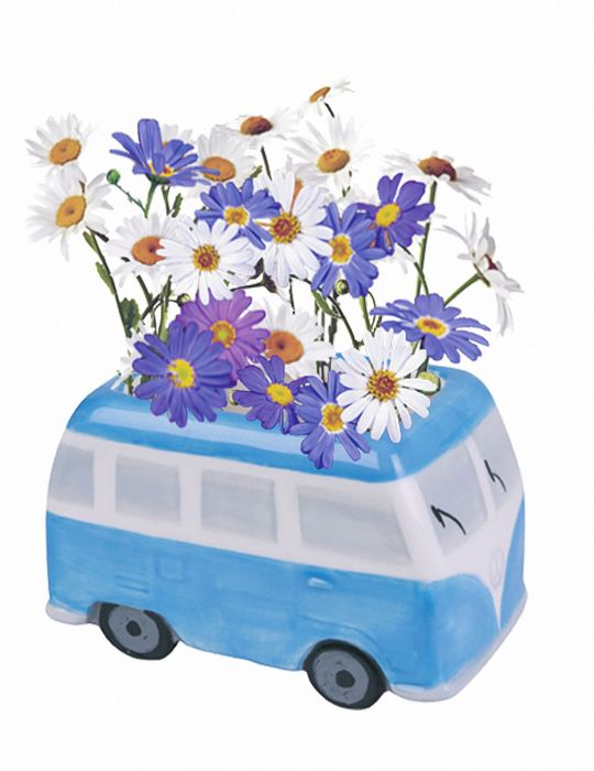 Daisy Grow Kit - Flower Power Van - Blue