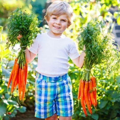 Top Ten Reasons To Get Kids Gardening