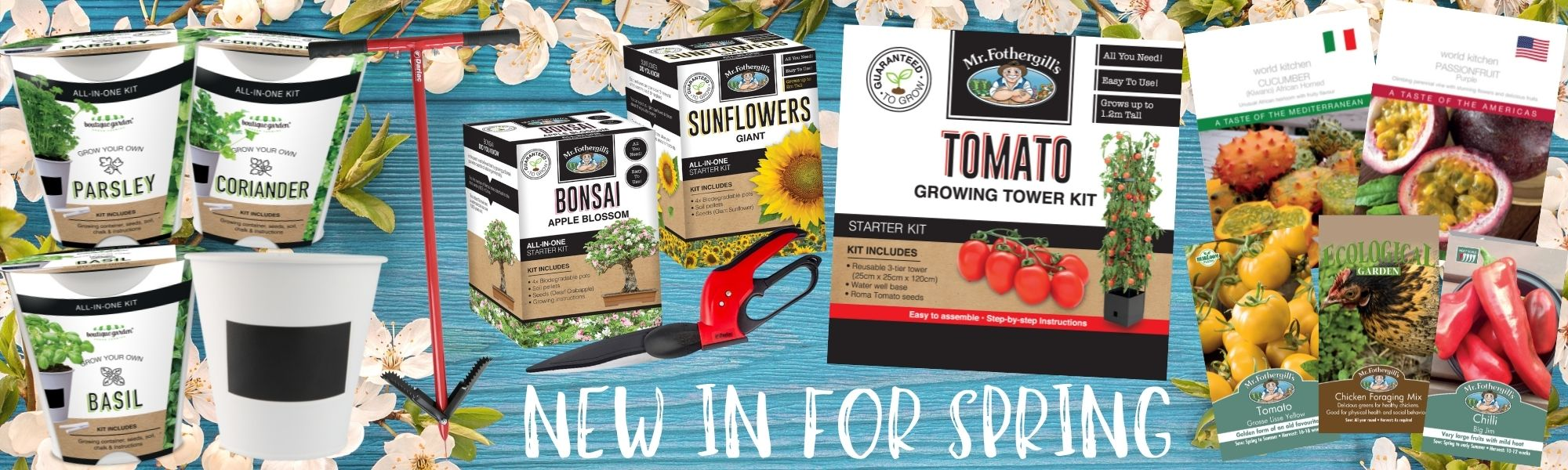 New Spring launch products