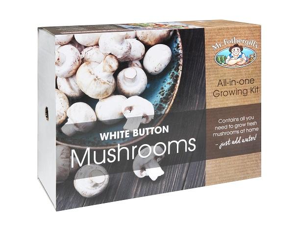 White Button Mushroom Kits