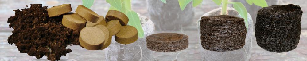 Jiffy peat soil pellets